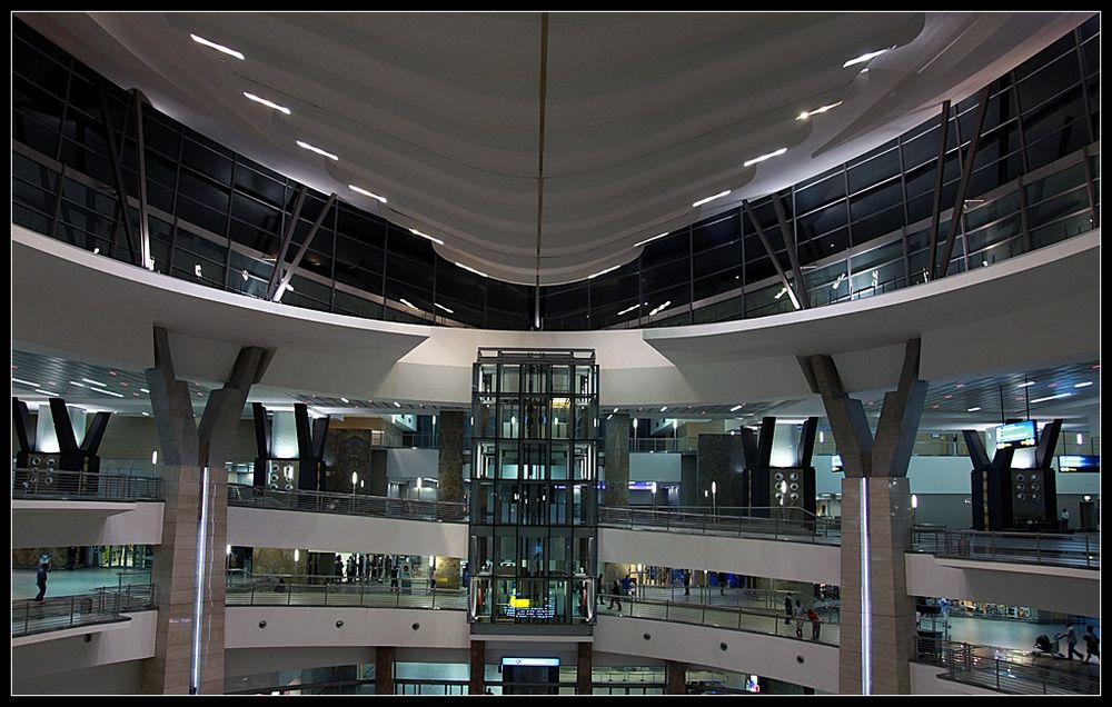 Johannesburg Airport - Abflughalle
