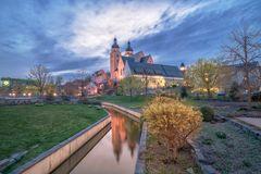 Johanniskirche mit Mühlgraben