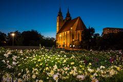 Johanniskirche zur blauen Stunde 2