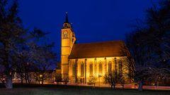 Johanniskirche zur blauen Stunde