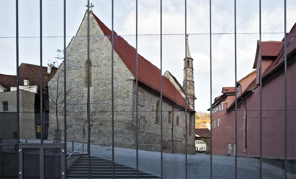 Johanniterhalle gespiegelt