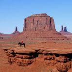 "John Wayne Point im Monument Valley also ""clasic view"""