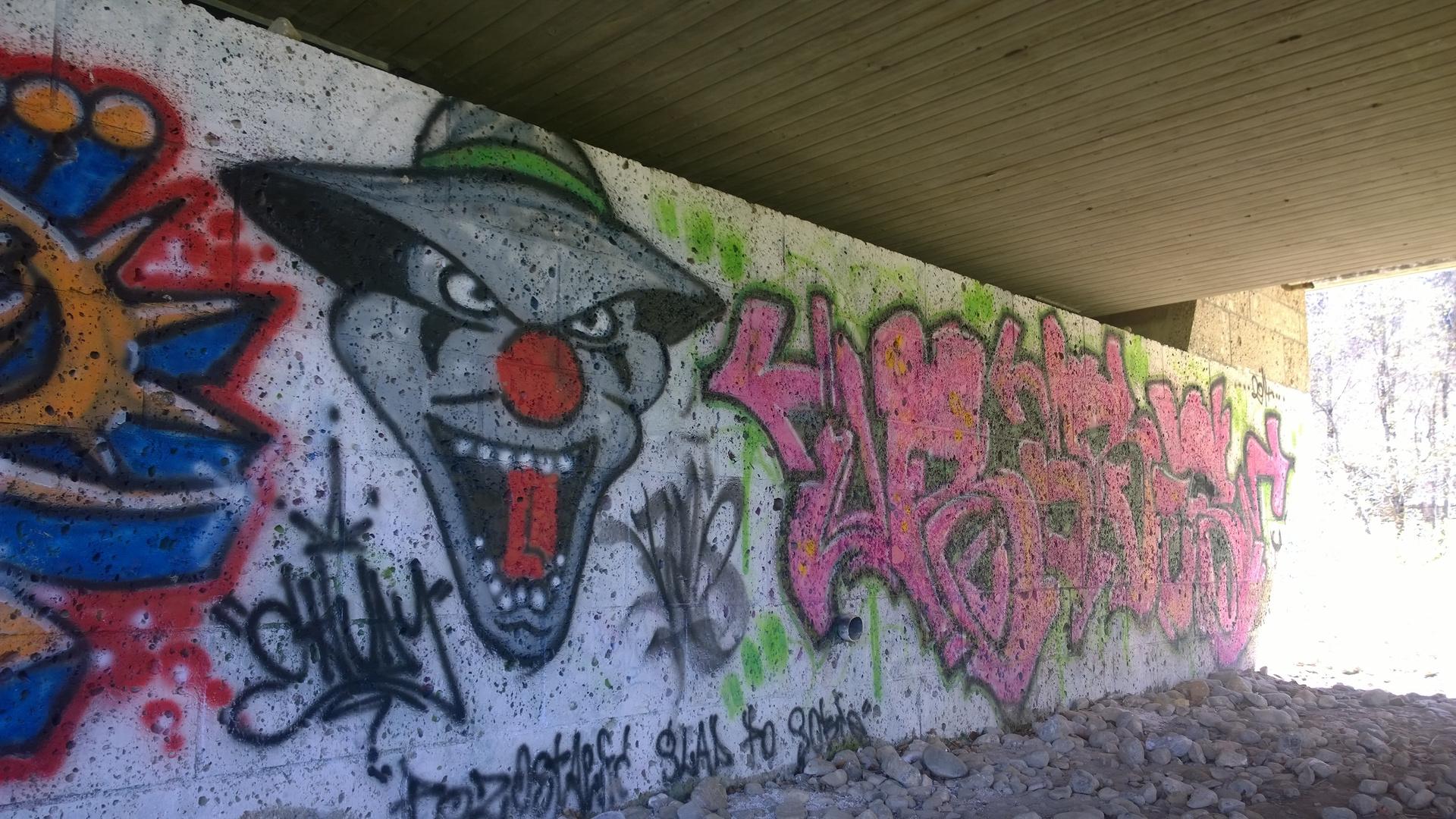 Joker Graffiti Foto Bild Art Mauer Joker Bilder Auf Fotocommunity