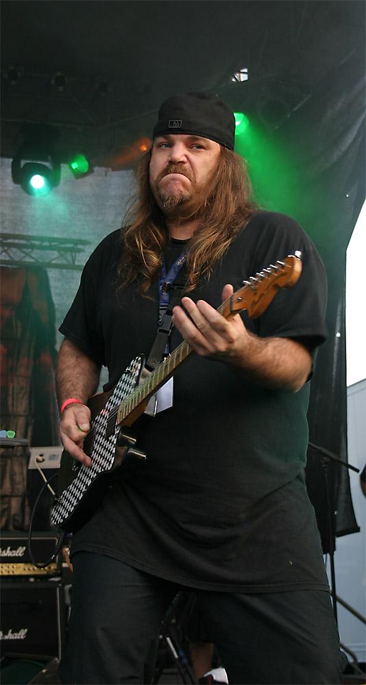 Jon Olivia of SAVATAGE ROCKHARZ 2006
