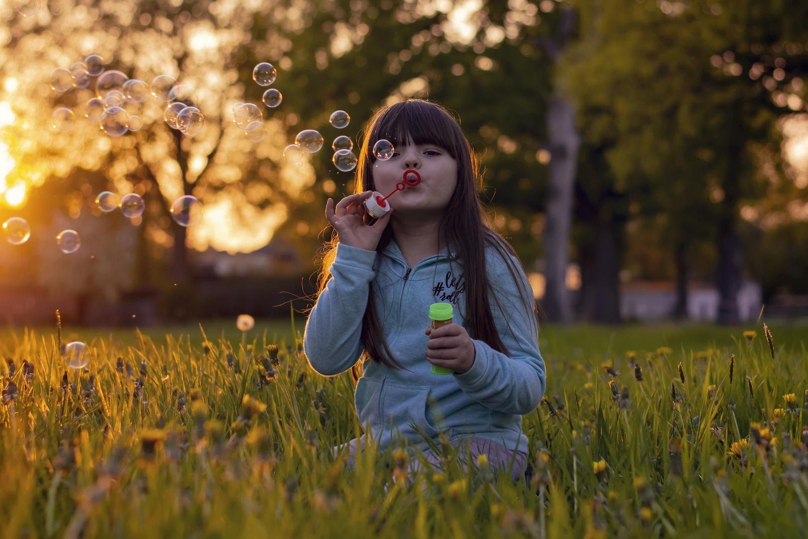 Josefine und die Seifenblasen