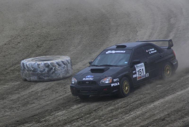 Josh Chang's Rally America Car