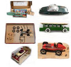 jouets des années 30