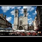 Jour de Marché à Chalon sur Saône