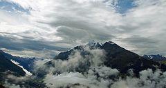 jour de pluie en haute montagne