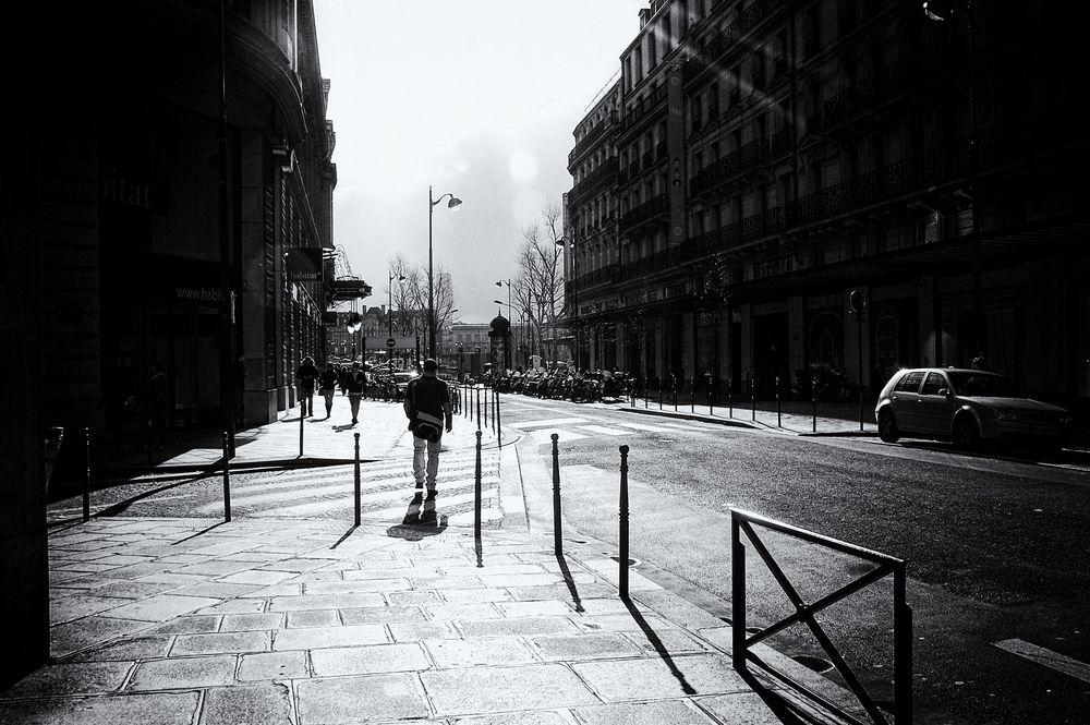 journée d'hiver à Paris