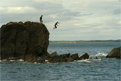 Joy-jumping...