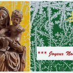 Joyeux Noël  --  Frohe Weihnachten