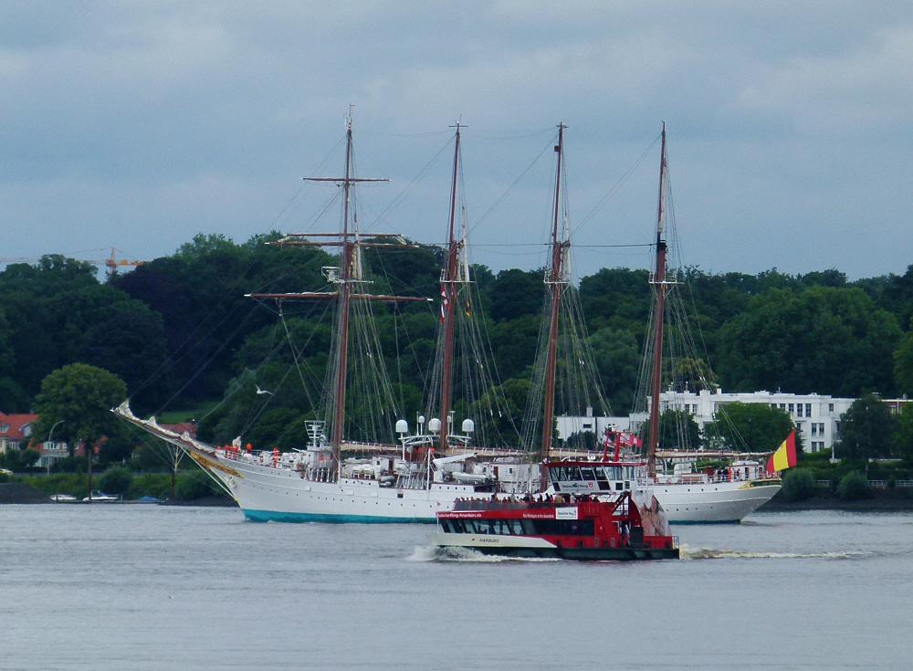 JS Elcano - Spanisches Segelschulschiff