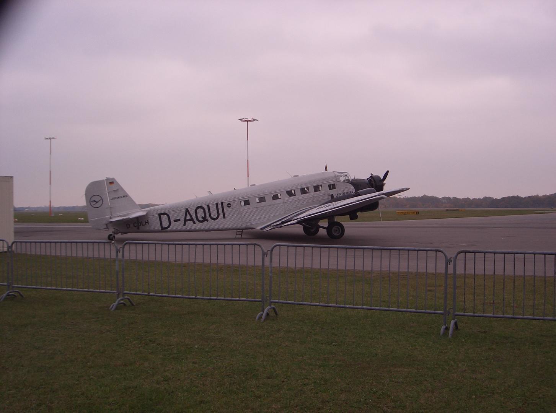 Ju 52 in Lübeck