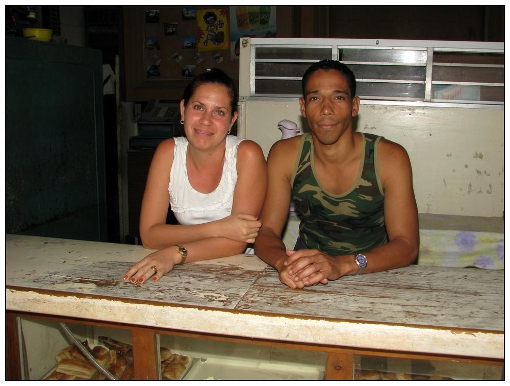 Juan Ramos und Frau