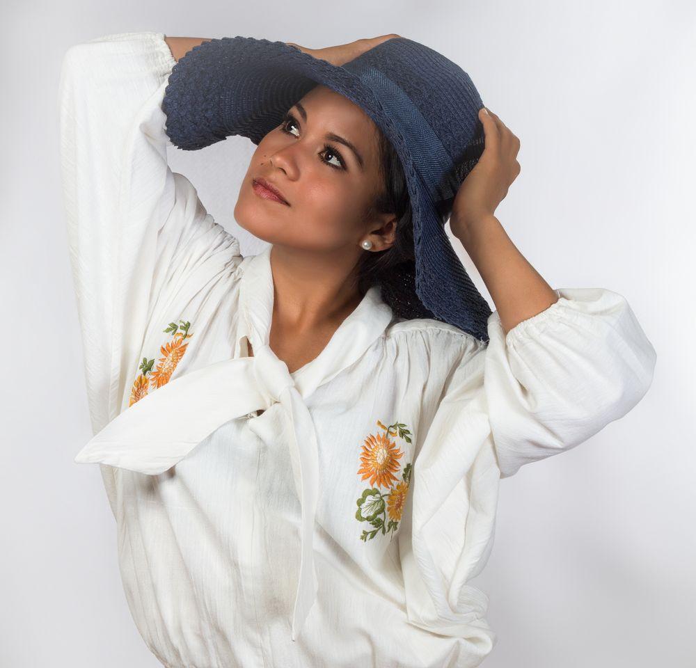 Juanita posing