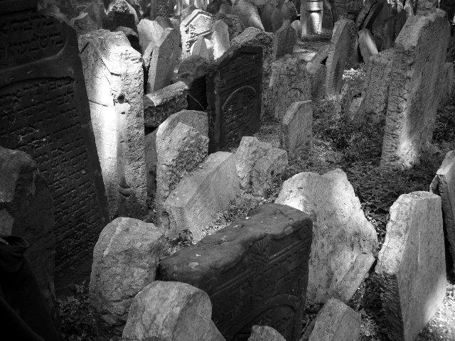 Jüdischer Friedhof v Praze