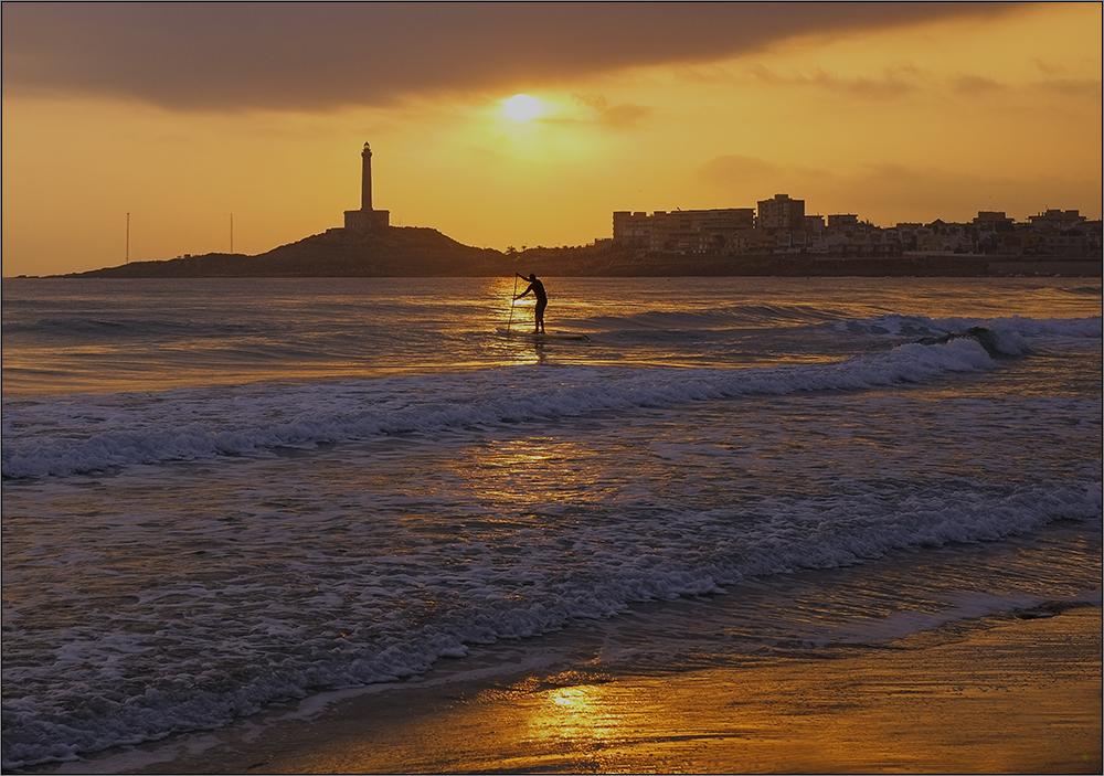 Jugando con el mar