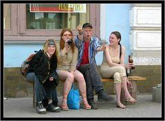 Jugend in Irkutsk/Sibirien