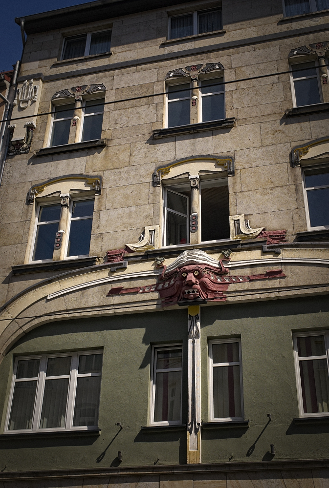 Jugendstil Laternen Foto Bild: Deutschland, Europe, Thüringen
