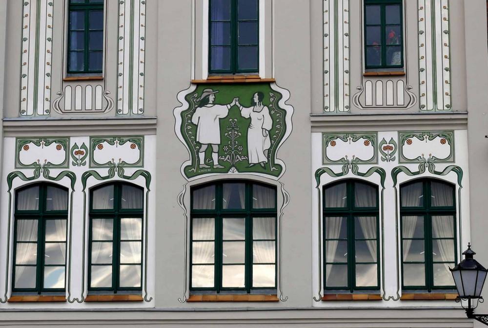 Jugendstil-Fassade