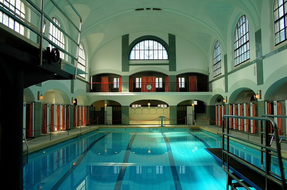 Jugendstil schwimmbad foto bild architektur - Schwimmbad architektur ...
