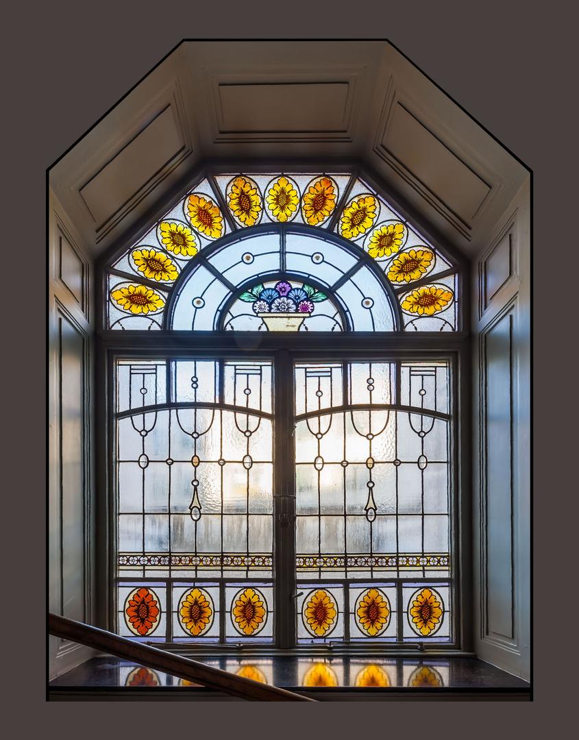 Jugendstilfenster 1a