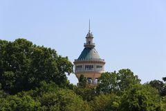 Jugendstilturm auf der Margarenteninsel