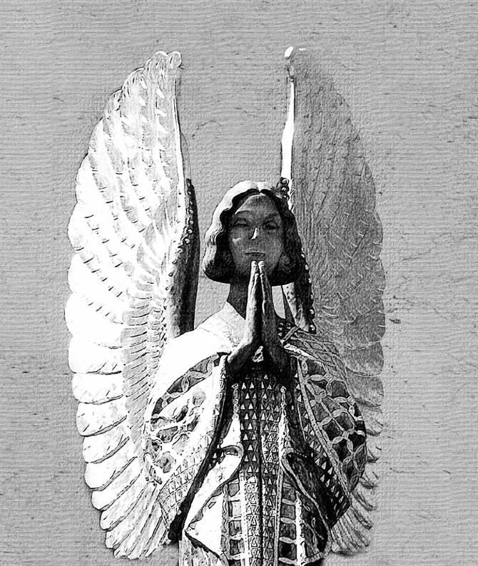 Jugenstil Engel