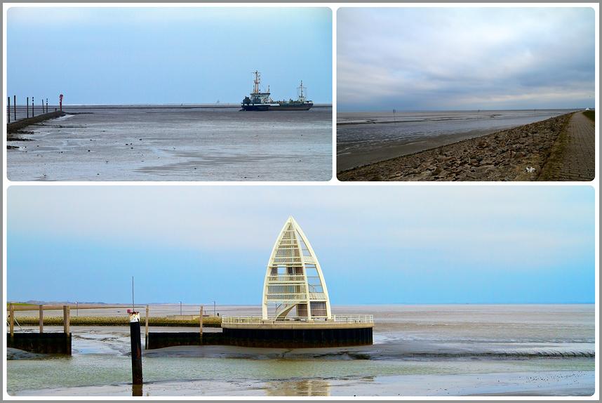 JUIST Hafen - April -