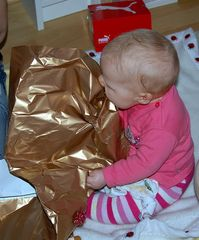 Jule´s erster Weihnachten