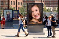 Julia auf Werbetour
