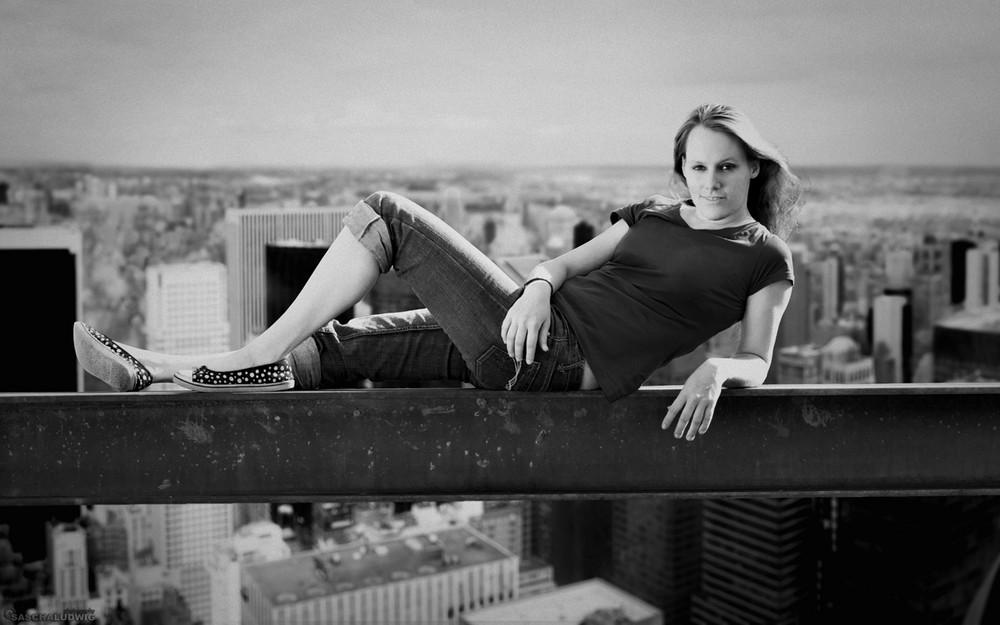 Juliane - Top of the rock