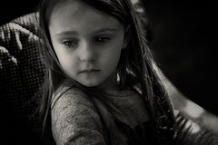 Julieta en b/n editada por Floren Kasado