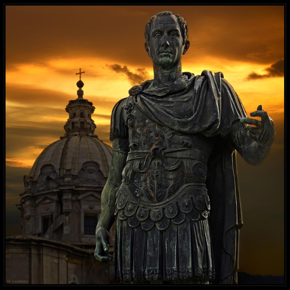 Julius Cesar Statue, Rom