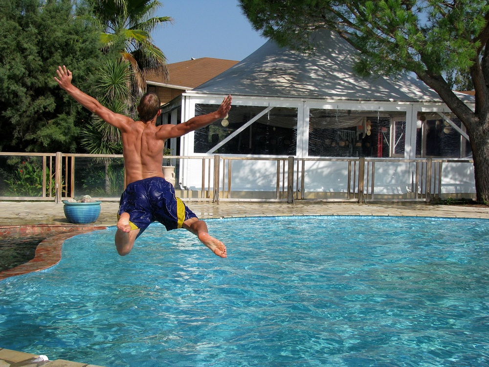 Jump in the pool =)