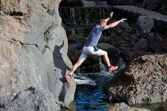Jump Madeira coast