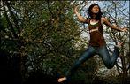 Jumping through the air!