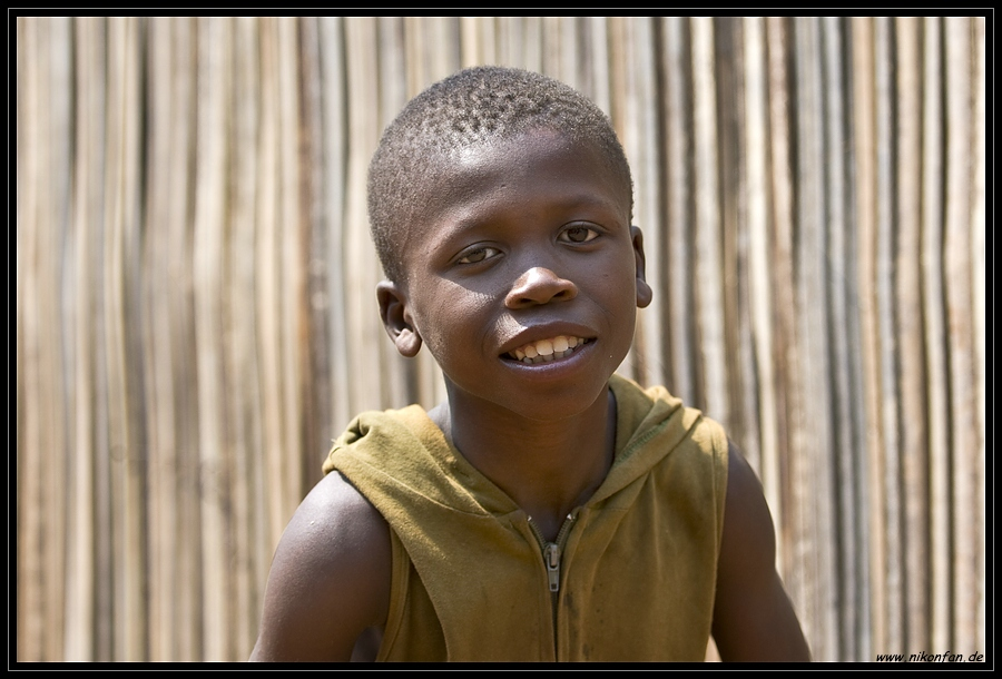 Junge aus Benin