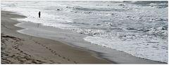 Junge Frau im Meer