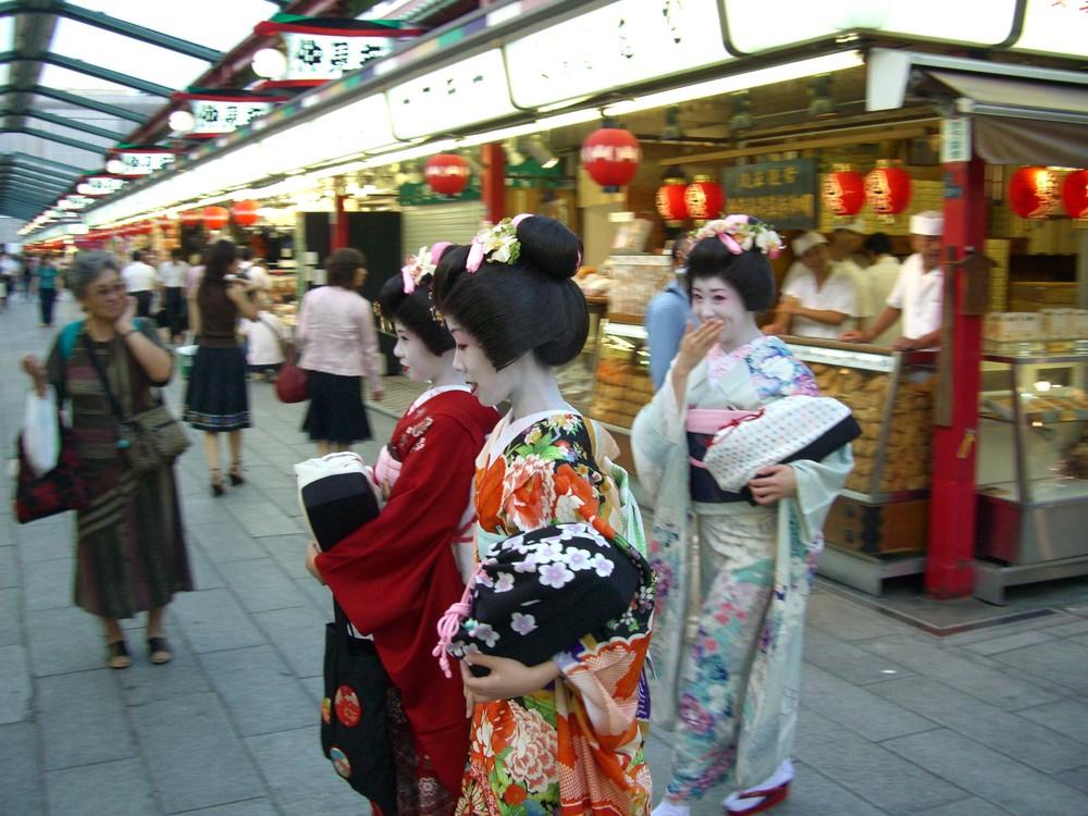 Junge Japanerinnen