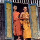 Junge Mönche in Luang Prabang