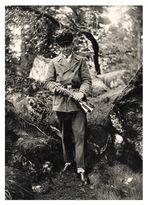 Junger Fanfar auf dem Waldstein