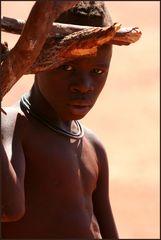Junger Himba-Mann