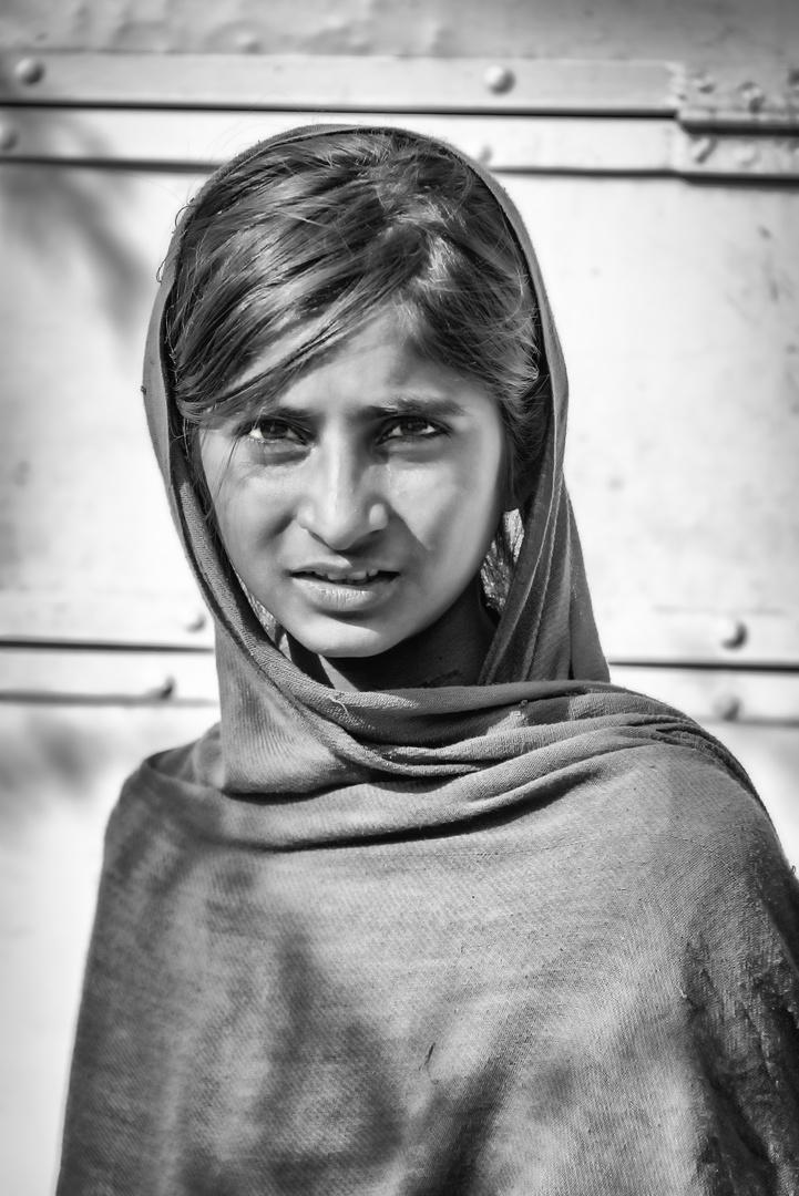 Junges Mädchen in Indien