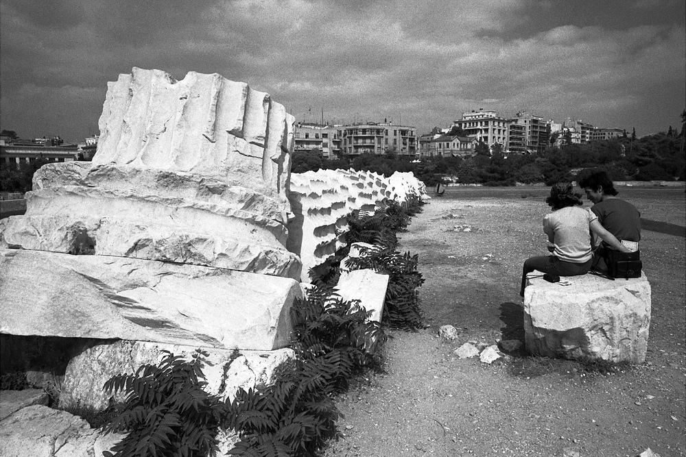 Junges Paar im alten Athen (Reload)