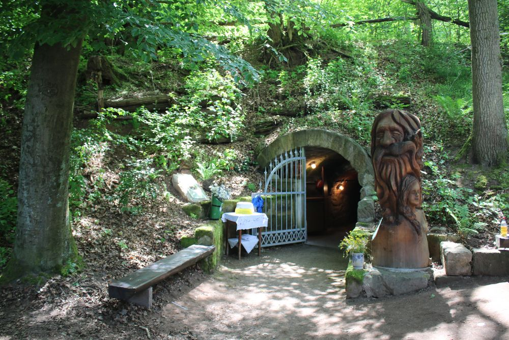 Jungferla Quelle bei Baiersdorf