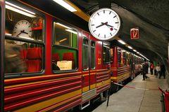 Jungfraubahn steht hier im Eiger