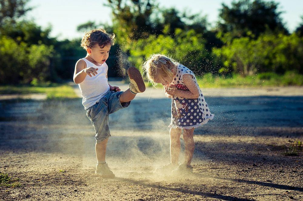 Jungs und Mädchen Foto & Bild   kinder, kinder ab 2
