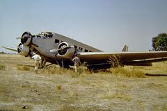 "Junkers Ju 52 auch bekannt als ""Tante Ju"""